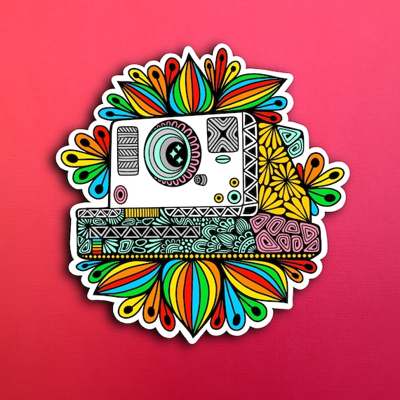 Polaroid Sticker (WATERPROOF)