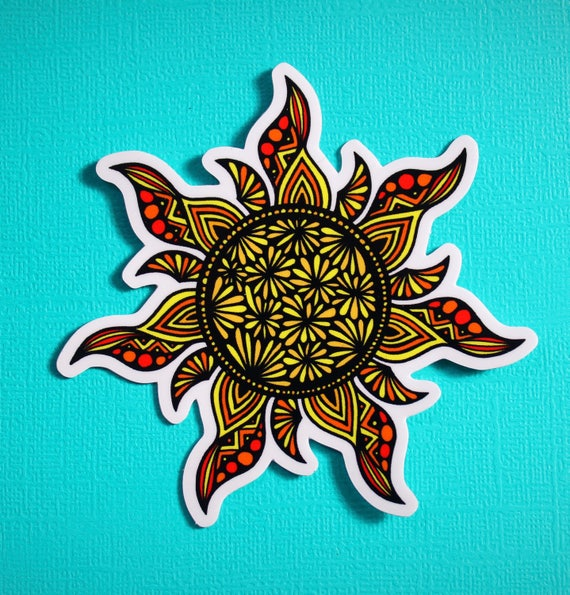 Sunshine Sticker (WATERPROOF)