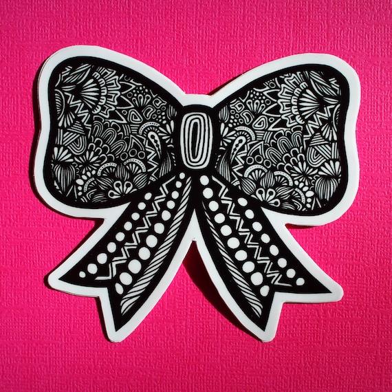 Bow Sticker (WATERPROOF)