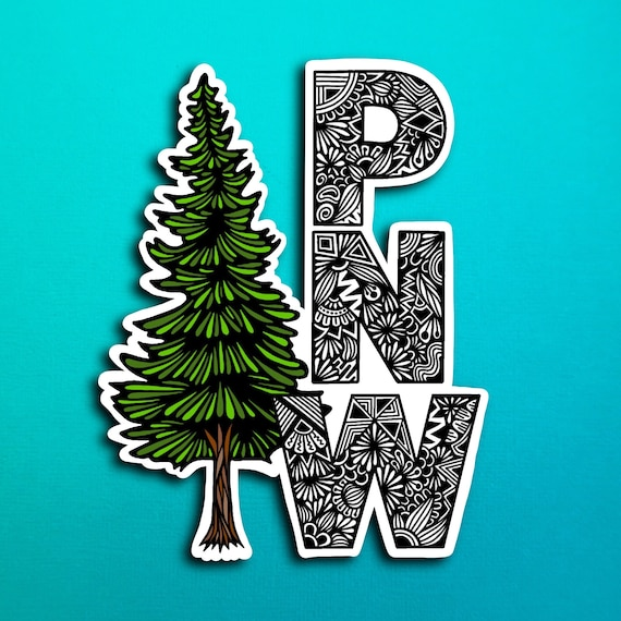 PNW Sticker (WATERPROOF)