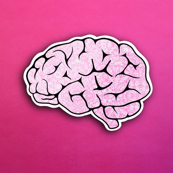 Brain Sticker (WATERPROOF)