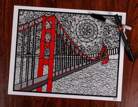 Pop of Color GG Bridge