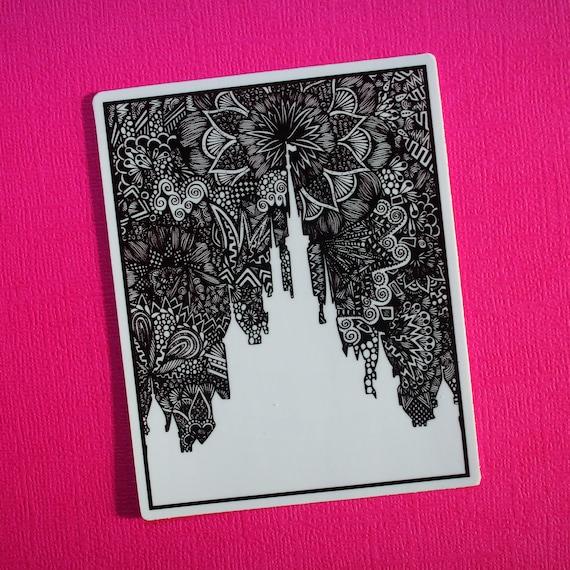 Castle Sticker (WATERPROOF)