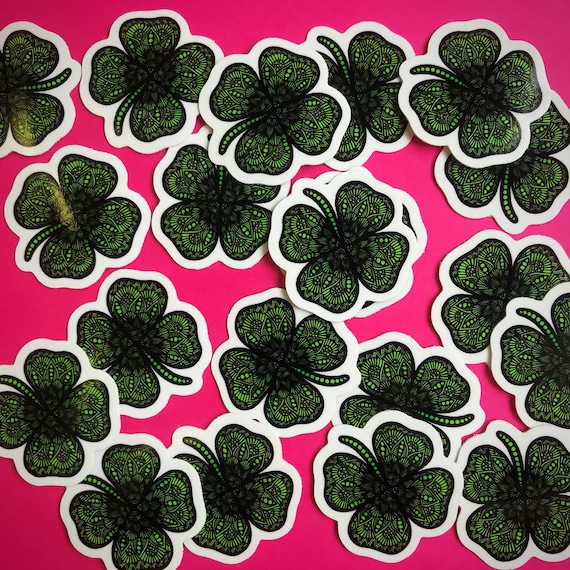 Mini Clover Sticker