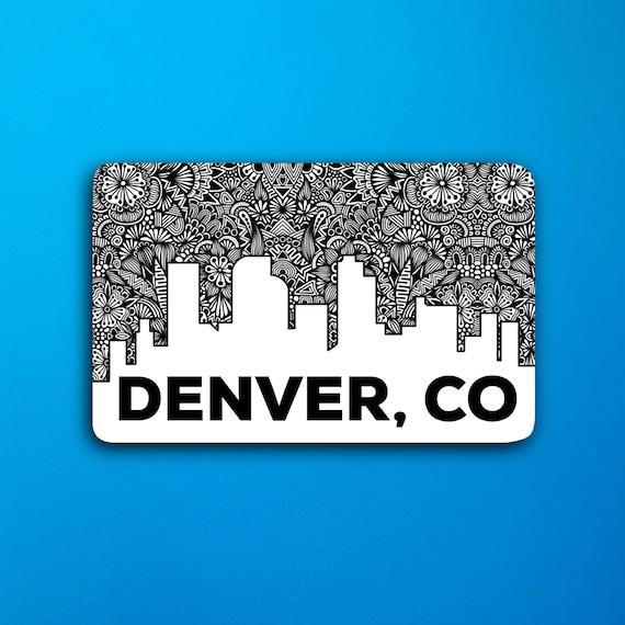 Denver, CO Sticker (WATERPROOF)