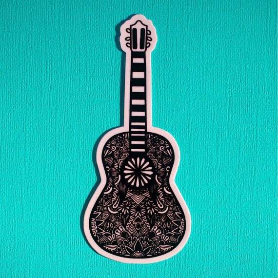 Guitar Sticker (WATERPROOF)