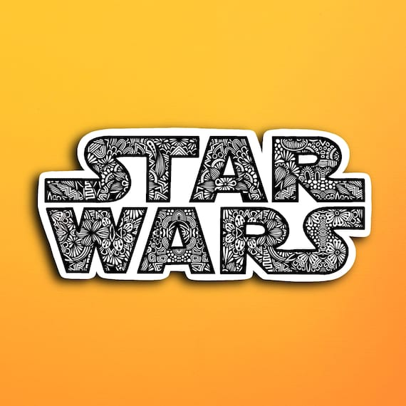Star Wars  Sticker (WATERPROOF)