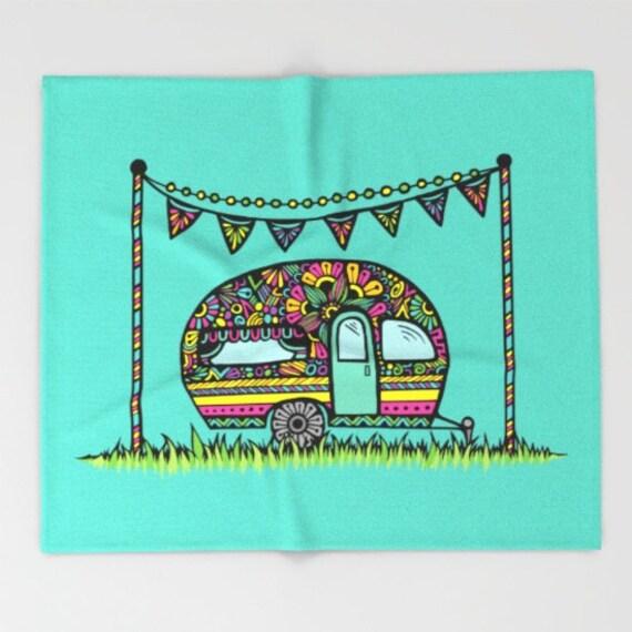 Little Camper Blanket