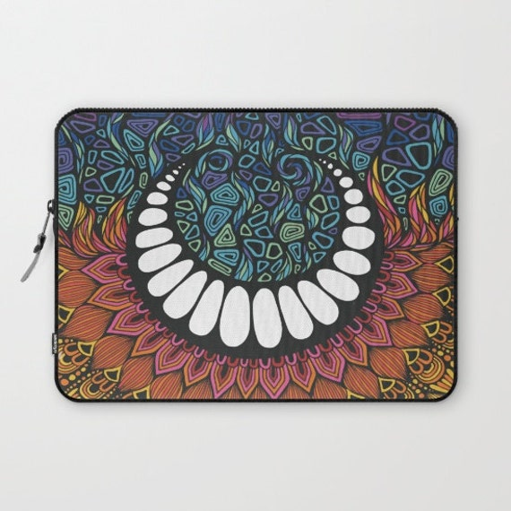 When the Sun meet the Moon Laptop Sleeve