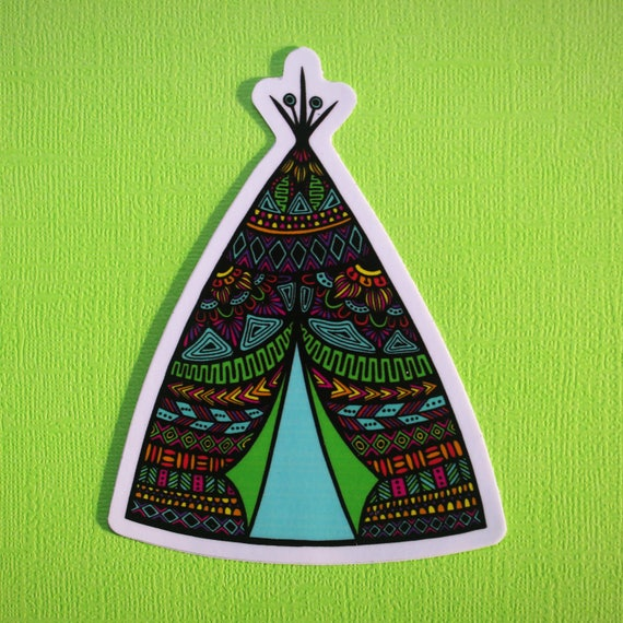 Tee Pee Sticker (WATERPROOF)