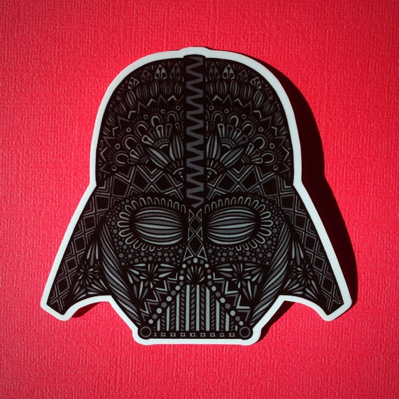 Darth Vader Sticker (WATERPROOF)