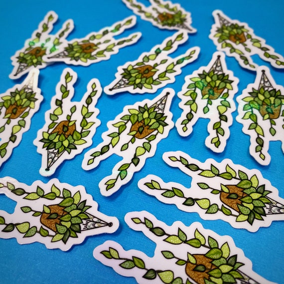 Mini Long Vine Sticker (WATERPROOF)