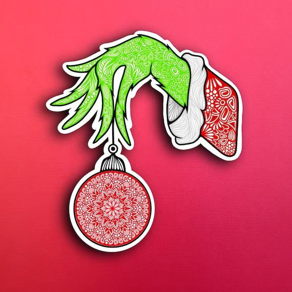 Grinch Sticker (WATERPROOF)