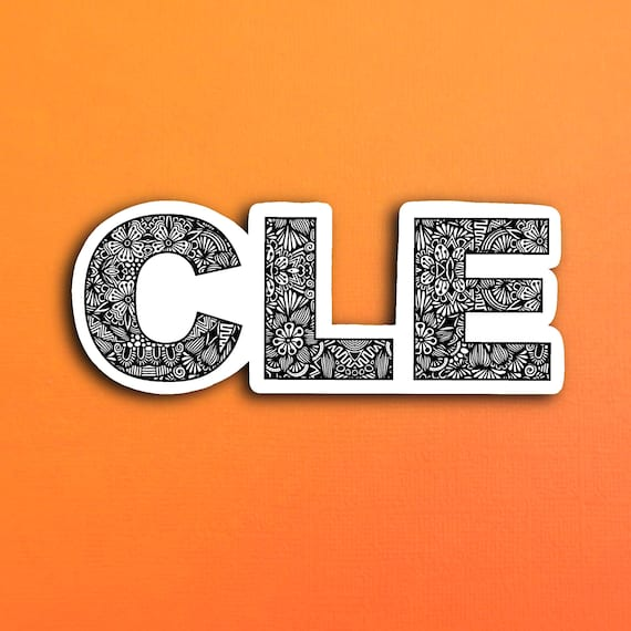CLE Sticker (WATERPROOF)