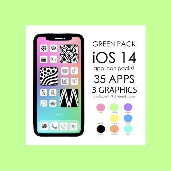 GREEN iOS 14 App Icons!