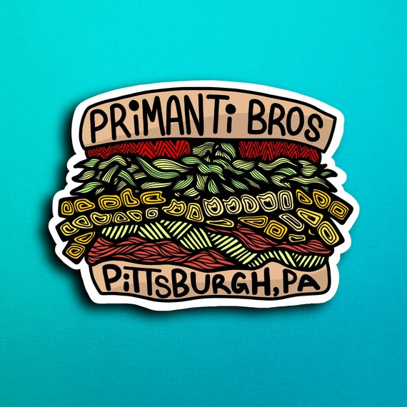 Primanti Bros Sticker (WATERPROOF)