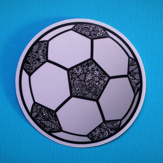 Soccer Sticker (WATERPROOF)