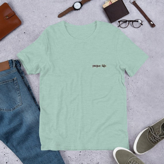 Front and back Pogue Life Unisex T-Shirt