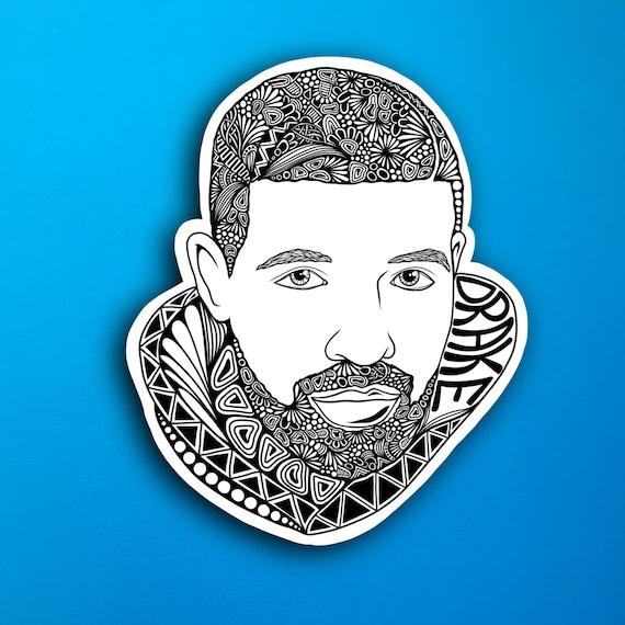 Drake Sticker (WATERPROOF)