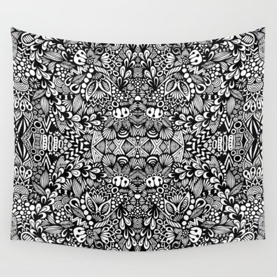 B&W Wall Tapestry