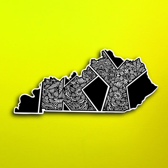 Kentucky Sticker (WATERPROOF)