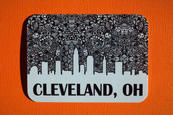 Cleveland Sticker (WATERPROOF)
