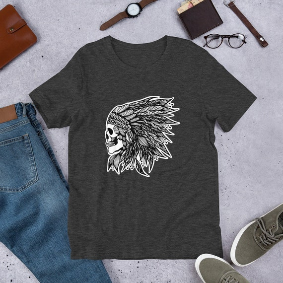 Feather Head Dress Unisex T-Shirt