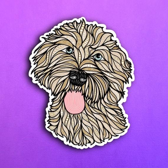 Golden Doodle Sticker (WATERPROOF)