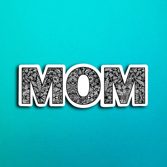 Mom Word Sticker (WATERPROOF)