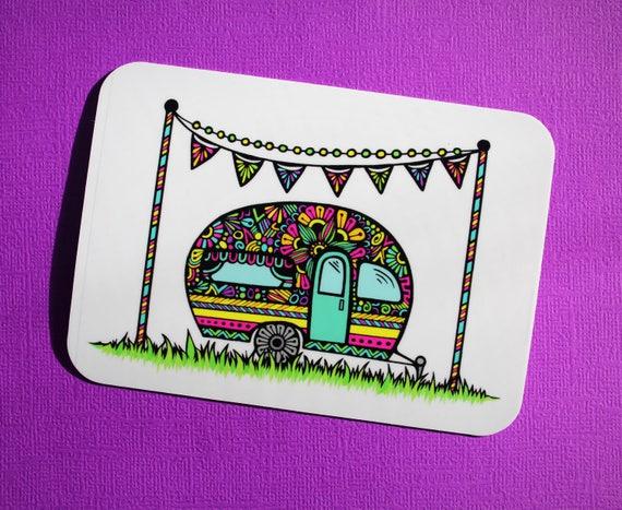 Little Camper Sticker (WATERPROOF)