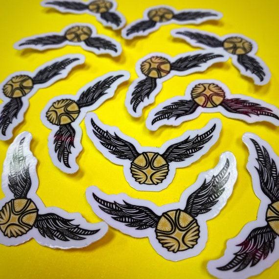 Mini Golden Snitch Sticker