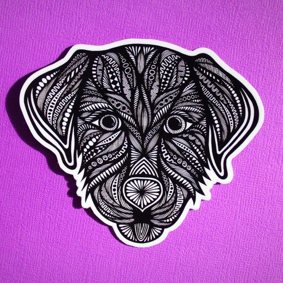 Dog Sticker (WATERPROOF)