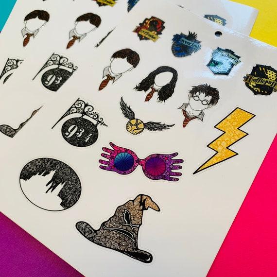 Mini Harry Potter Sticker Sheet (WATERPROOF)