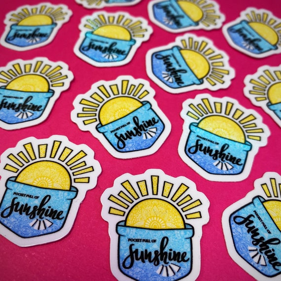 Mini Pocket Full of Sunshine Sticker