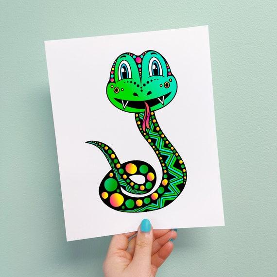 Skyla the Snake Print