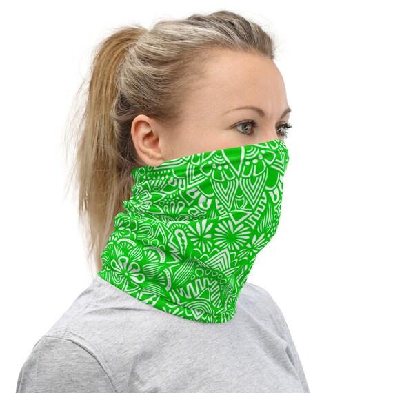 Green Neck Gaiter