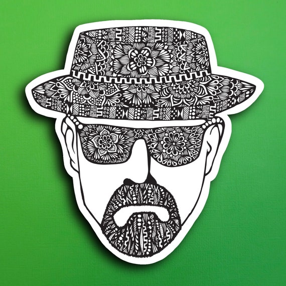 Breaking Bad Sticker (WATERPROOF)