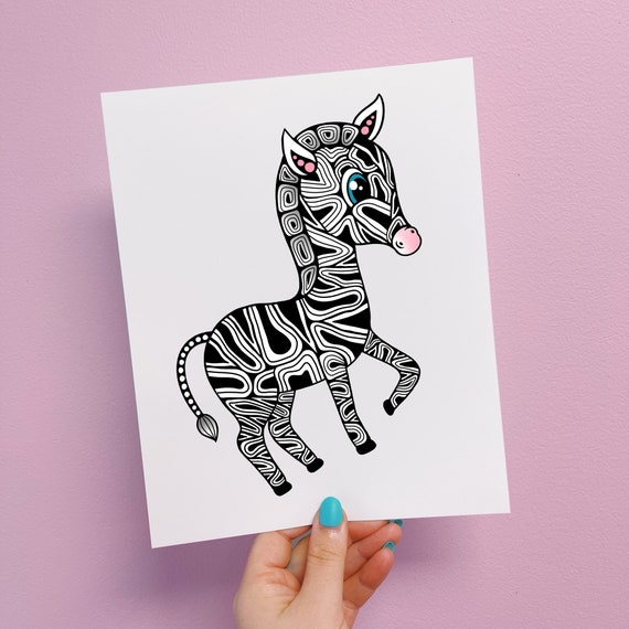 Zeni The Zebra Print