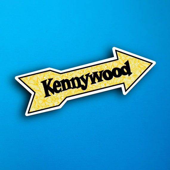 Kennywood Sticker (WATERPROOF)