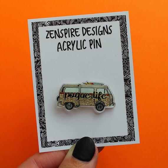 Pogue Life Acrylic Pin