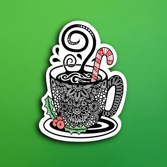 Hot Coco Sticker (WATERPROOF)