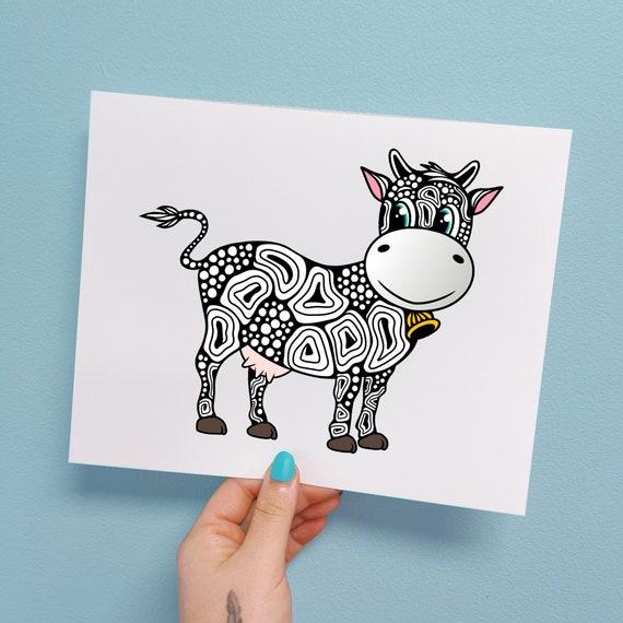 Colton the Cow Print
