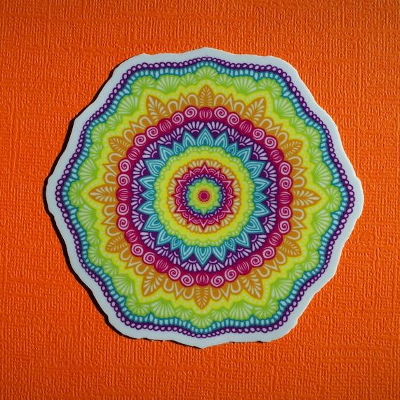 Rainbow Mandala (WATERPROOF)