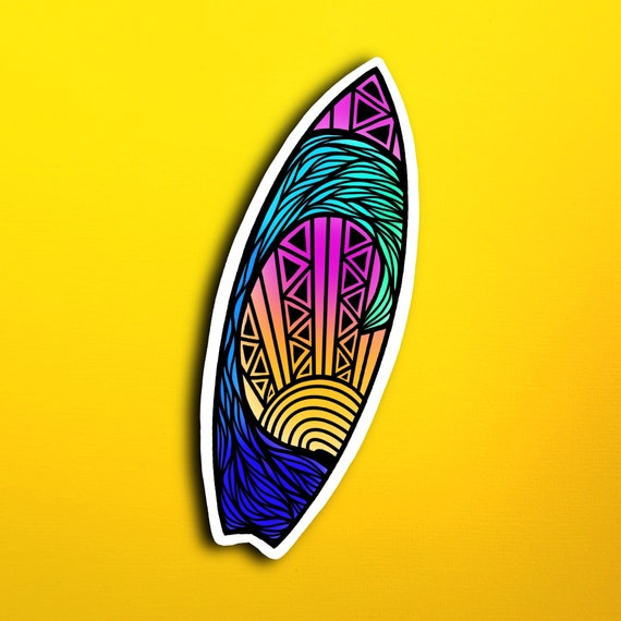 Surfboard Sticker (WATERPROOF)