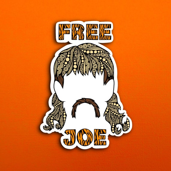 Free Joe Sticker (WATERPROOF)