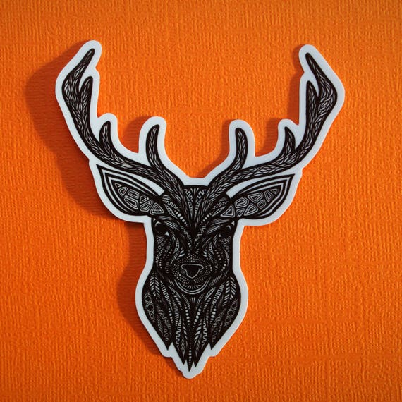 Deer Sticker (WATERPROOF)