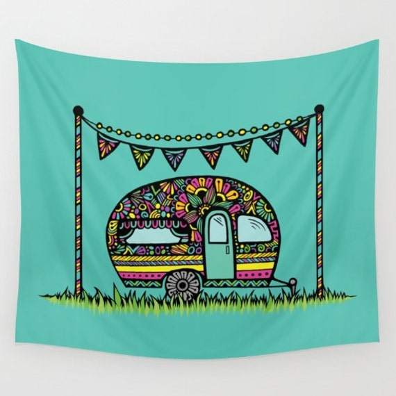 Little Camper Tapestry