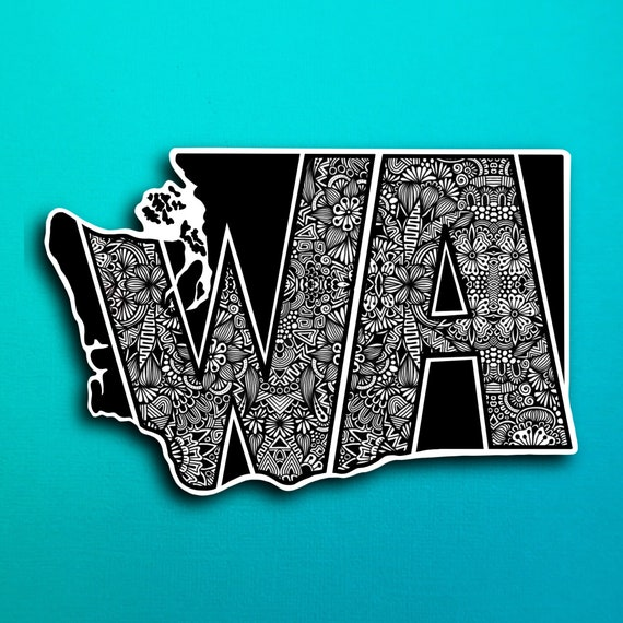 Washington Sticker (WATERPROOF)