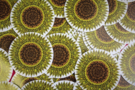 SMALL Sunflower Sticker (WATERPROOF)