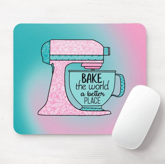 Bake the World Mouse Pad
